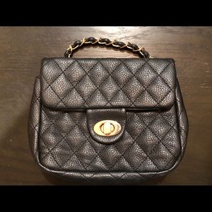 Handbags - SALE-Quilted Purse w/ Long Strap